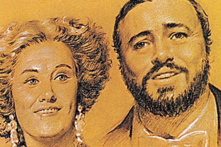 La Traviata: Joan Sutherland und Luciano Pavarotti
