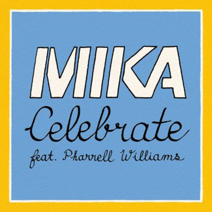 Singlecover Celebrate MIKA