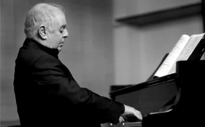 Daniel Barenboim am Klavier