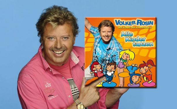 Volker Rosin, Chart-Sensation: Volker Rosins Kinderlieder erfolgreicher als viele Popacts!