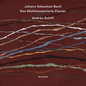 András Schiff, J.S. Bach: Das Wohltemperierte Clavier, 00028947648277