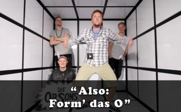 Die Orsons, Die Orsons Web-Tool: Formt das O und kassiert einen Freetrack