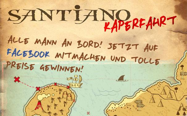 Santiano, Jetzt mitmachen - die Santiano Kaperfahrt auf Facebook!