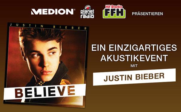 Justin Bieber, Gewinnt Tickets für exklusives Justin Bieber Akustik-Event am 11. September in Frankfurt
