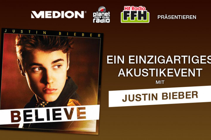 Justin Bieber Akustikevent