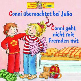 Conni, 37: Conni übernachtet bei Julia / Conni geht nicht mit Fremden mit, 00602527960418