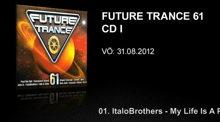 Future Trance 61 Minimix CD 1