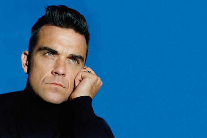 Robbie Williams Pressefoto 2011