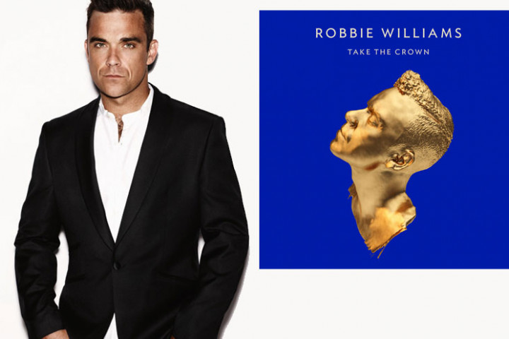 Robbie Williams reveals Albumcover