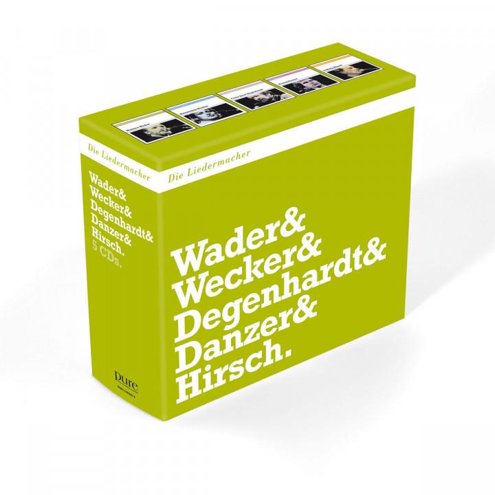 Die Liedermacher: Wader / Wecker / Degenhardt / Danzer / Hirsch