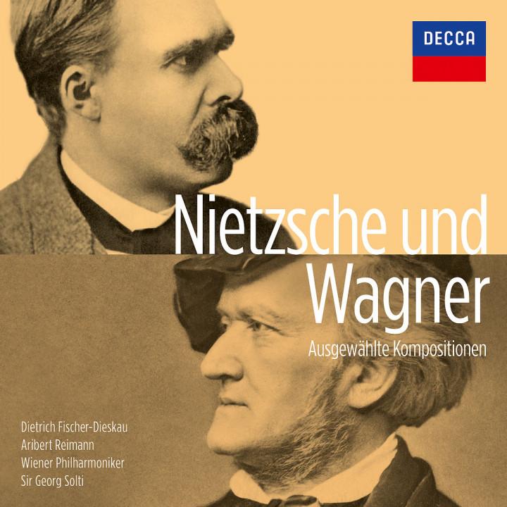 Wagner und Nietzsche - ausgewählte Kompositionen: Solti/Fischer-Dieskau/WP/Reimann/Budde