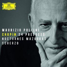 Maurizio Pollini, 24 Preludes, Nocturnes, Mazurkas, Scherzo, 00028947795308