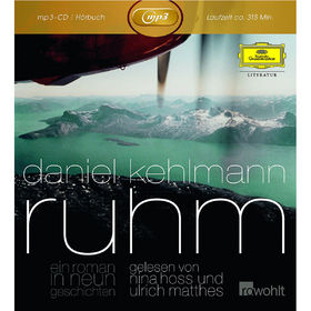 Daniel Kehlmann, Ruhm. Ein Roman in neun Geschichten (mp3 CD), 00602537088591