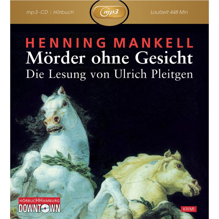 Henning Mankell: Mörder ohne Gesicht (mp3): Pleitgen,Ulrich