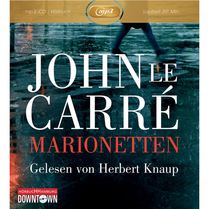 John le Carre: Marionetten (mp3): Knaup,Herbert