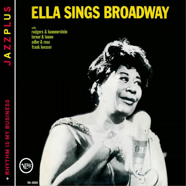 Sings Broadway (+ Rhythm Is My Business): Fitzgerald,Ella