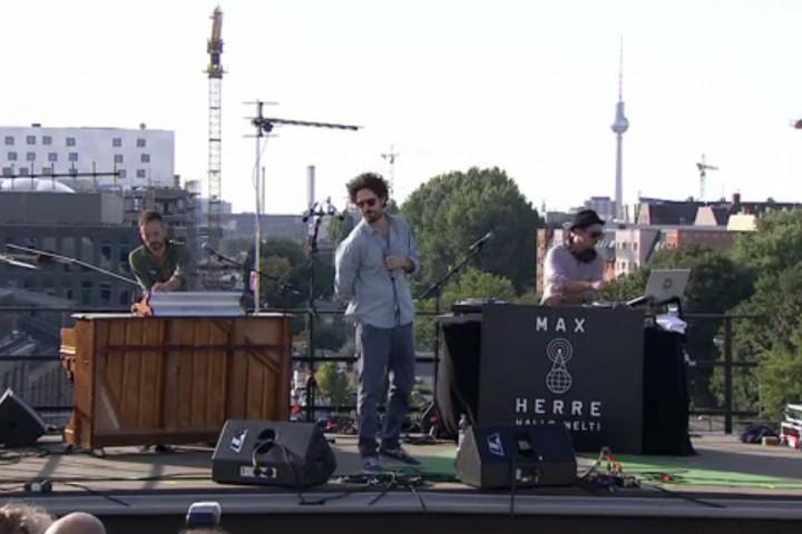 Max Herre Auf den Dächern Festival