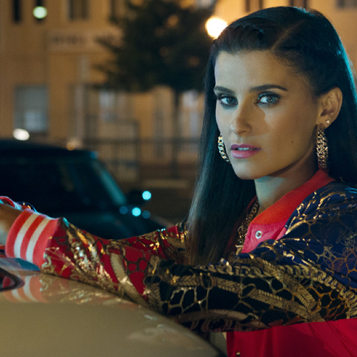 Nelly Furtado Parking Lot Videodreh 3