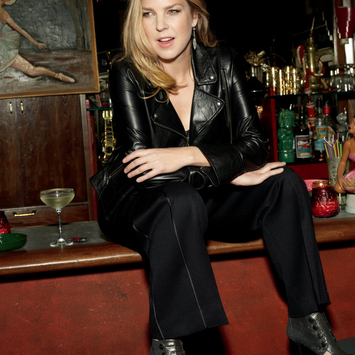 Diana Krall Glad Rag Doll SITZEND by Mark Seliger
