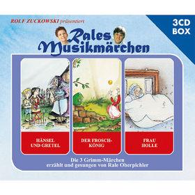 Rales Musikmärchen, Hänsel und Gretel, Der Froschkönig, Frau Holle, 00602537085132