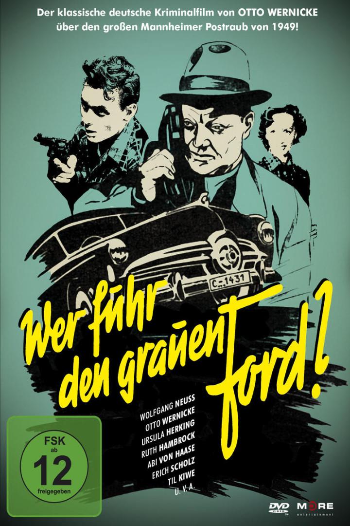 Wer fuhr den grauen Ford - Cover