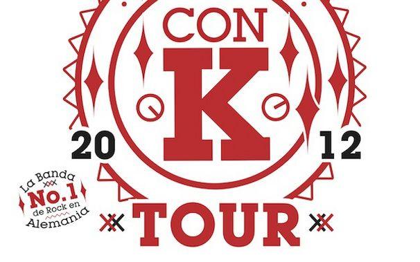 Kraftklub, Kraftklub auf Kolumbien Con K Tour 2012