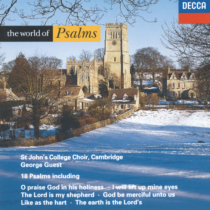DIVER:WORLD OF PSALMS         : CHOIR OF ST. JOHNS C