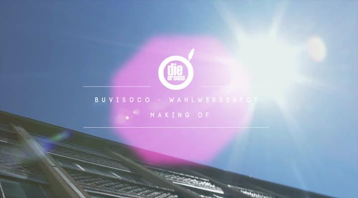 Making Of zum Wahlwerbespot BuViSoCo 2012