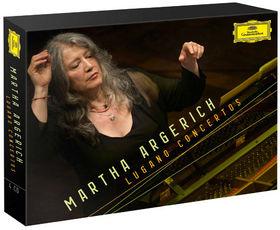 Martha Argerich, Martha Argerich - Lugano Concertos, 00028947798842