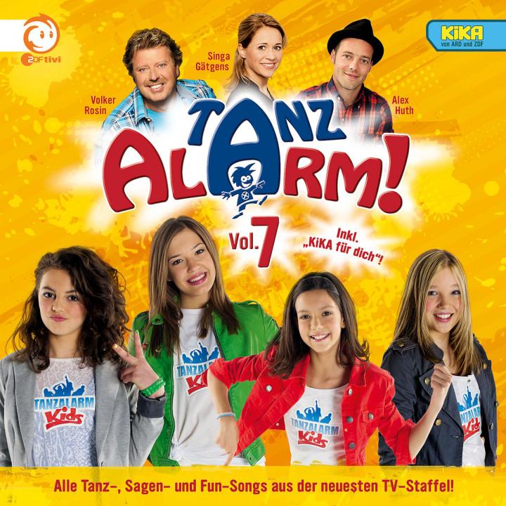 KI.KA Tanzalarm! 7: Rosin,Volker/Huth,Alex/TanzalarmKids