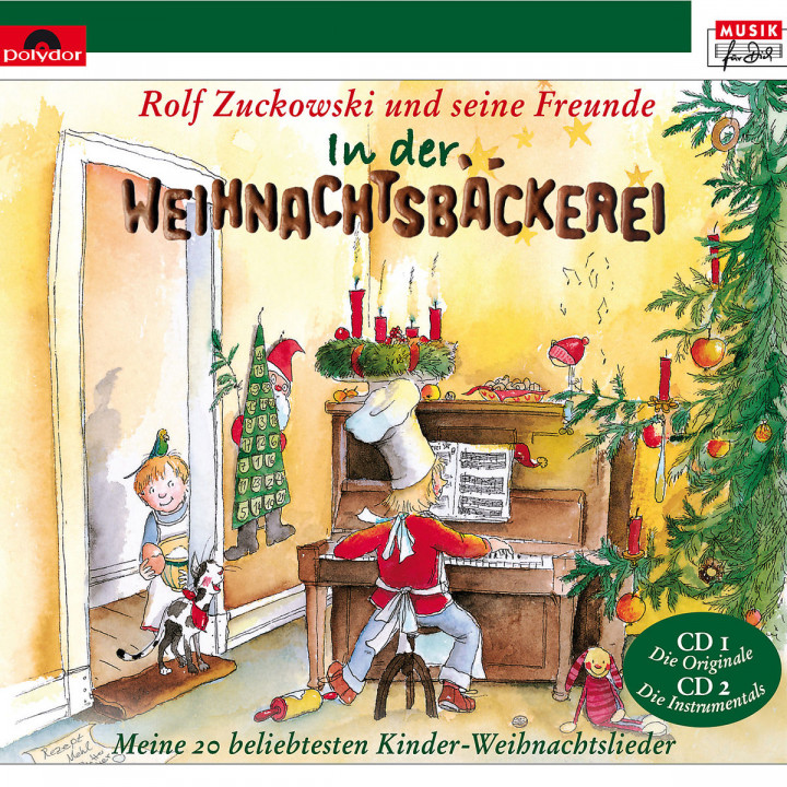 Rolf Zuckowski | Musik | In der Weihnachtsbäckerei