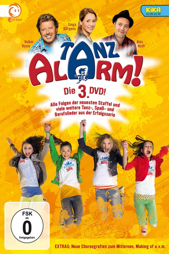 KiKA Tanzalarm! Die 3. DVD!: Rosin,Volker/Huth,Alex/TanzalarmKids/Gätgens,S.