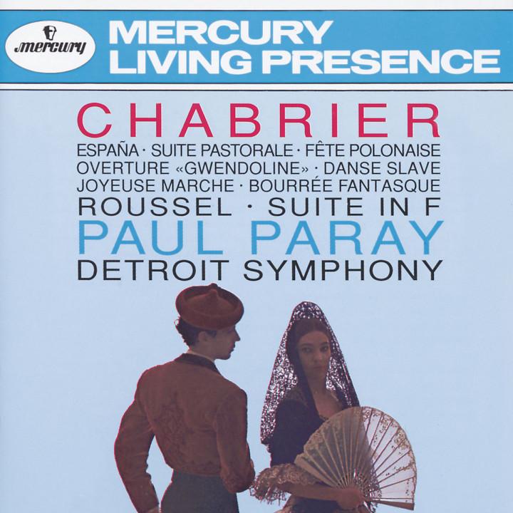 """Chabrier: España; Suite pastorale; Fete Polonaise; Overture """"Gwendoline""""; Danse Slave; Roussel: Sui"""