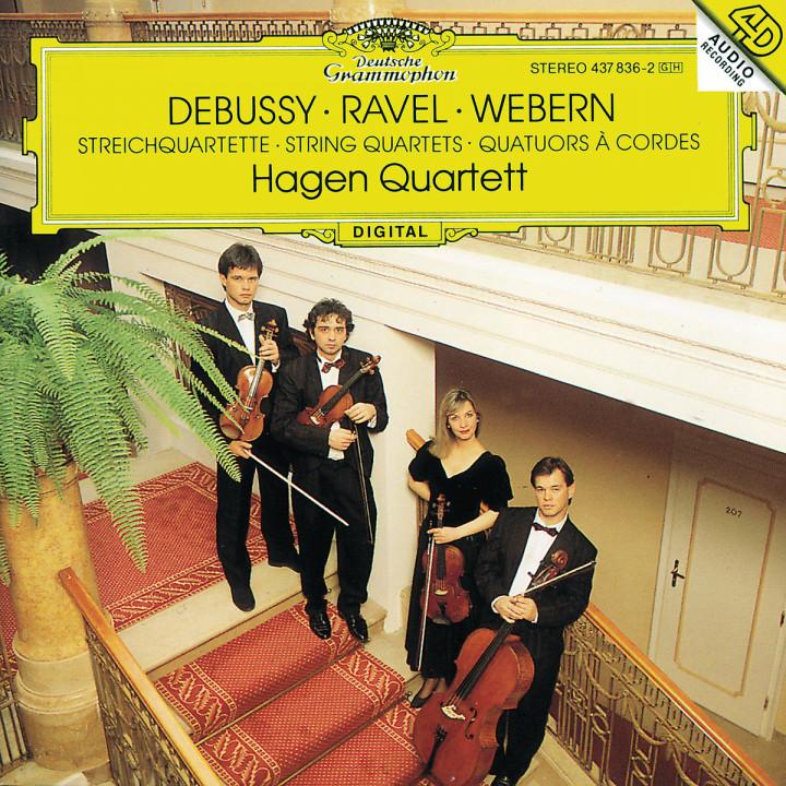 Debussy / Ravel / Webern: String Quartets