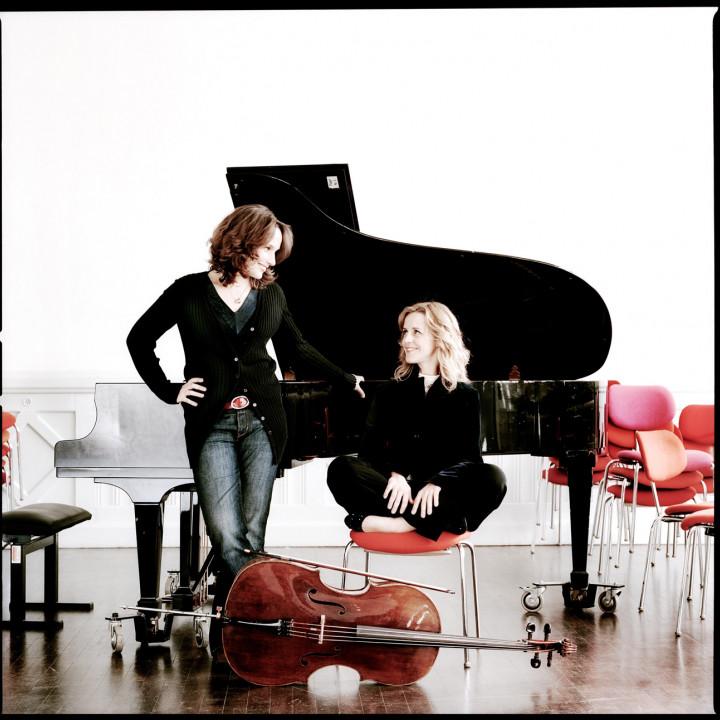 Helene Grimaud und Sol Gabetta