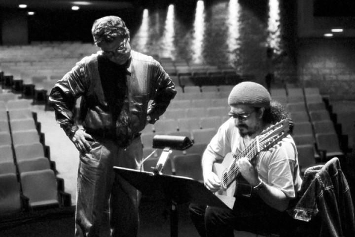 Charlie Haden und Egberto Gismonti beim Jazzfest Montreal 2001