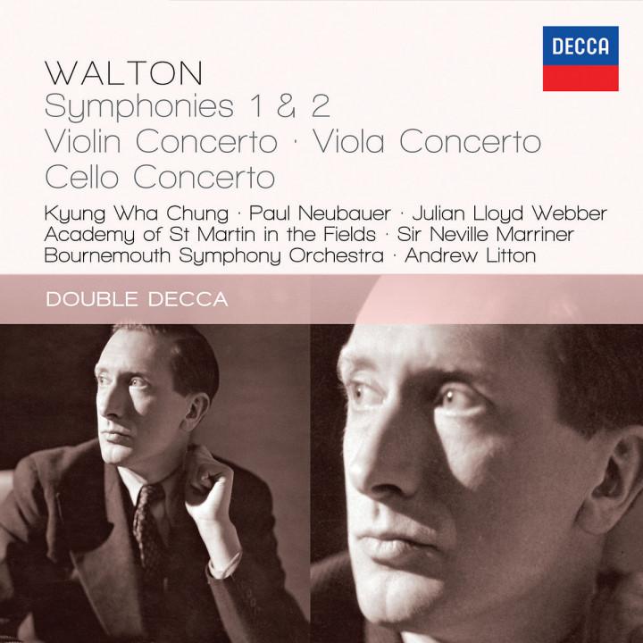 Walton: Symphonies 1 & 2; Violin Concerto; Viola Concerto; Cello Concerto