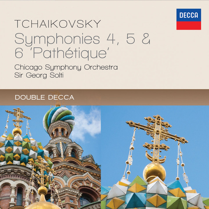 """Tchaikovsky: Symphonies 4, 5 & 6 - """"Pathétique"""""""