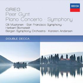 Herbert Blomstedt, Grieg:  Peer Gynt; Piano Concerto; Symphony, 00028947845881