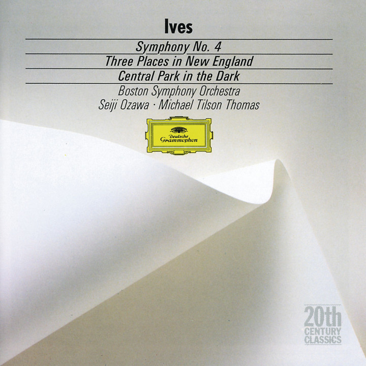 Ives: Symphony No.4; Central Park in the Dark; Three Places in New England
