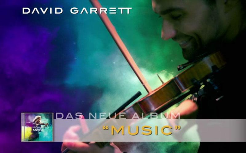 """David Garrett, David Garrett """"Music"""" Albumtrailer"""