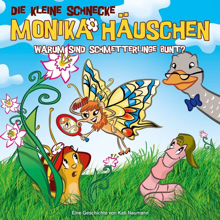 28: Warum sind Schmetterlinge bunt?: Die kleine Schnecke Monika Häuschen