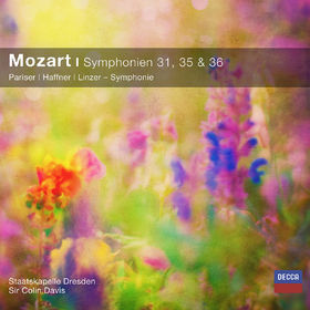Staatskapelle Dresden, Mozart: Symphonien Nr. 31, 35, 36 (CC), 00028948066858