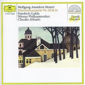 Wolfgang Amadeus Mozart, Klavierkonzerte Nr. 20 d-moll KV 466 & Nr. 21 C-dur KV 467, 00028941584229