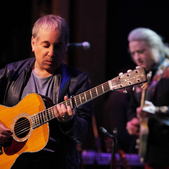 Paul Simon Live at Webstar Hall