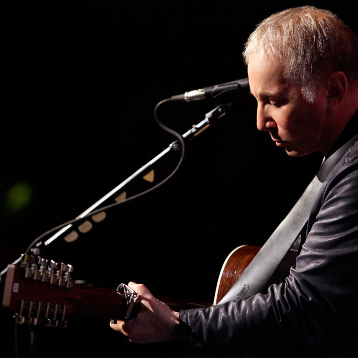 Paul Simon in der General Webster Hall 2012