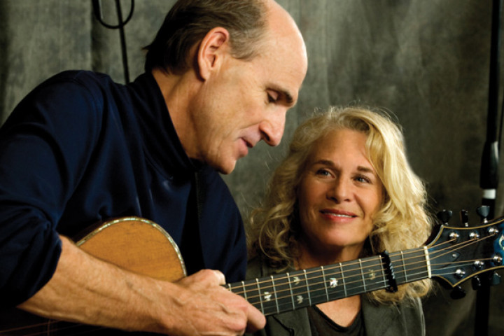 Carole King und James Tayler