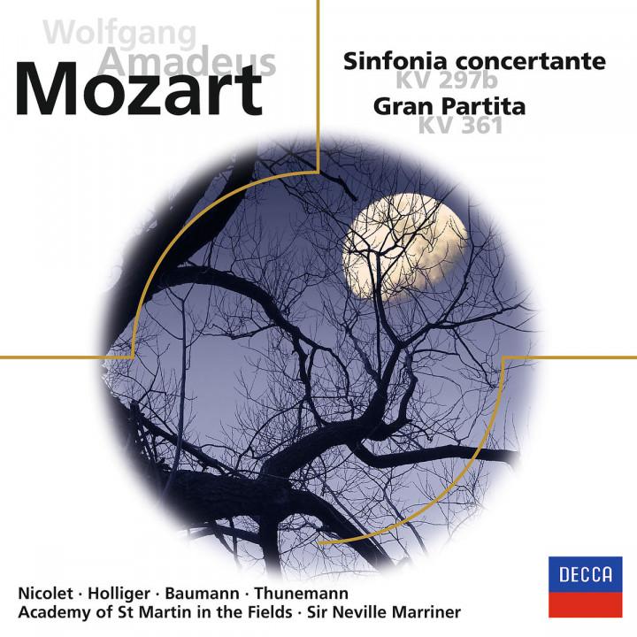 """Mozart: Sinfonia concertante / Serenade Nr.10 """"Gran Partita"""""""
