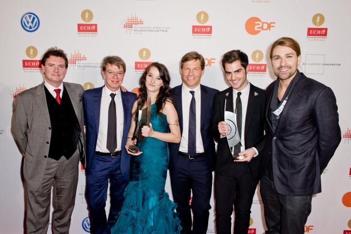 ECHO Klassik 2012: UNIVERSAL MUSIC Künstler in 12 Kategorien erfolgreich
