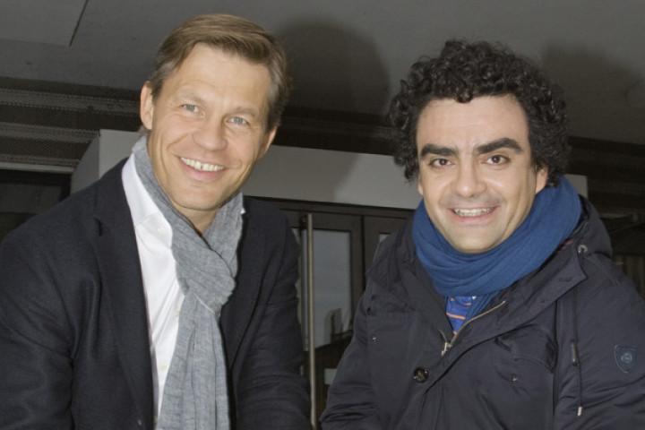 Frank Briegmann und Rolando Villazón
